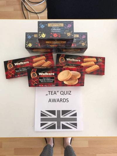 Tea Quiz – PPG