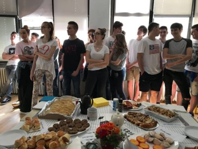 Prva privatna gimnazija – English Breakfast and High Tea