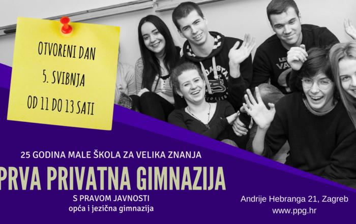 Prva privatna gimnazija – Otvoreni dan 2018.