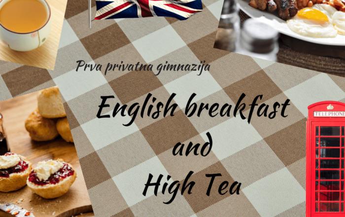 Poziv na English Breakfast and High Tea