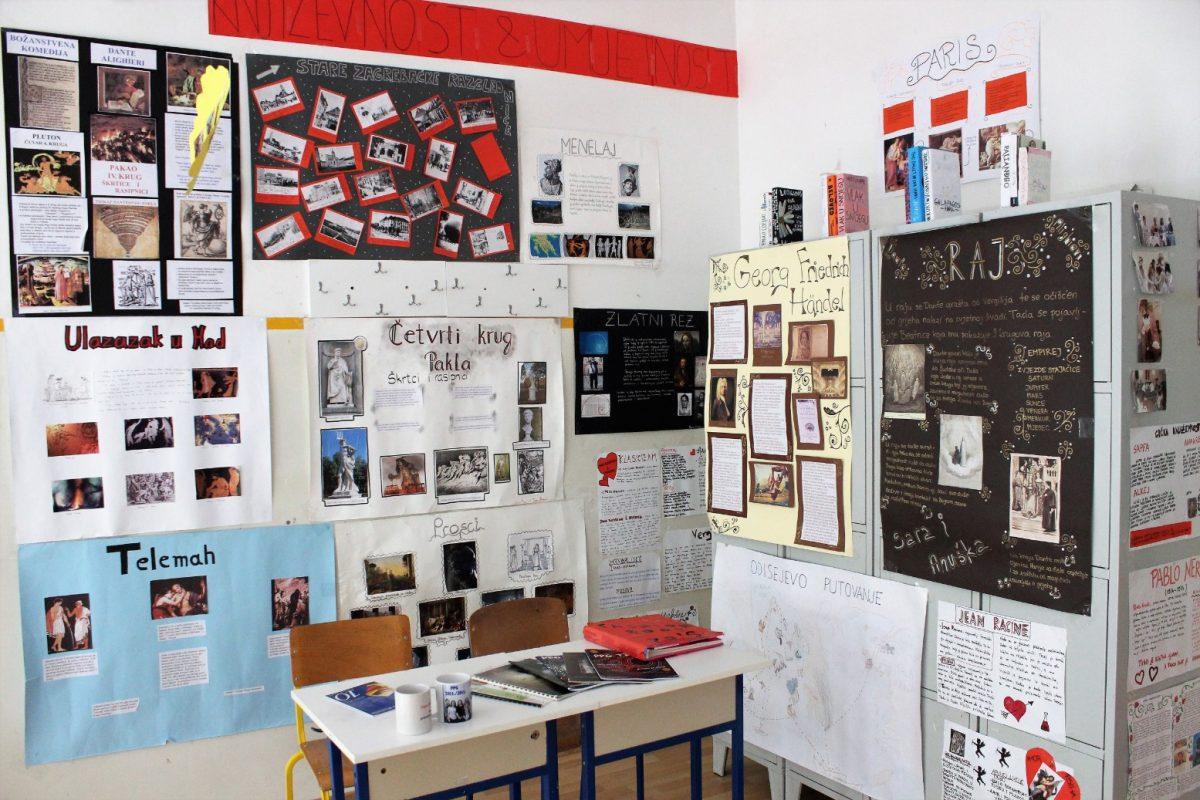 Prva privatna gimnazija – Otvoreni dan 2018. – učionica
