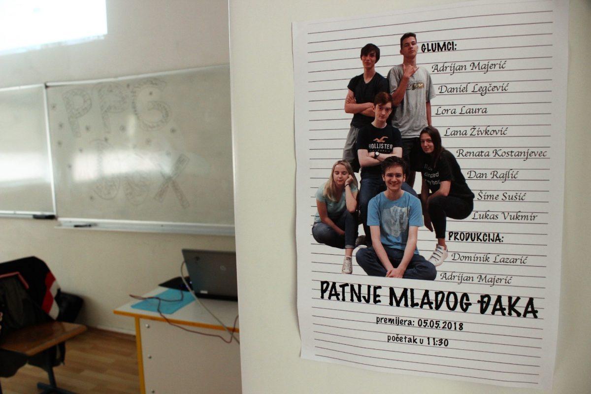 Prva privatna gimnazija – Otvoreni dan 2018. – plakat predstave