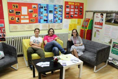 Prva privatna gimnazija – Otvoreni dan 2018. – hodnik