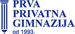 Prva privatna gimnazija Logo